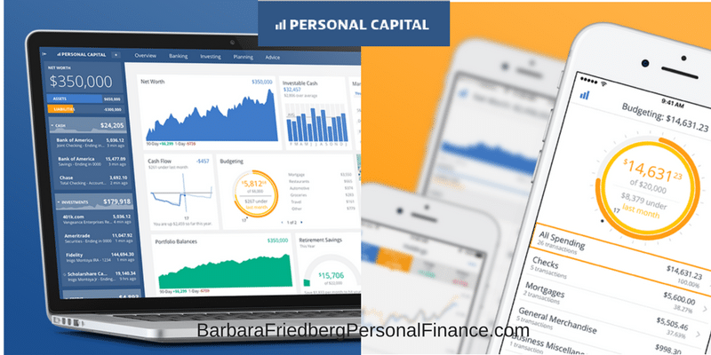 Free Personal Capital Dashboard