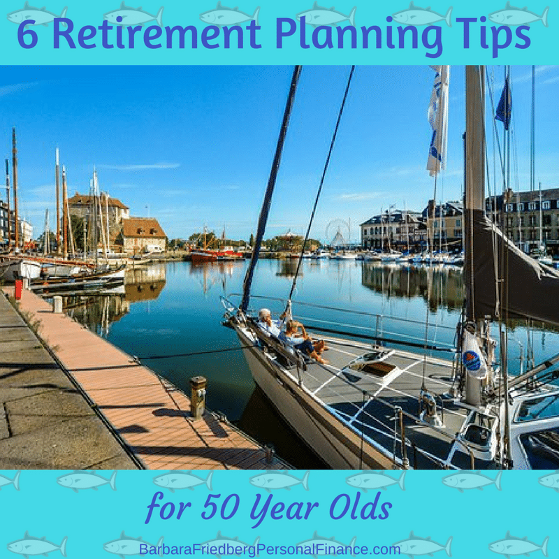 6 retirement planning tips for 50 year olds