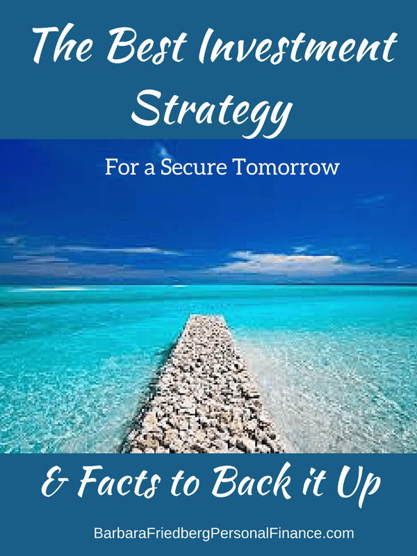 Buy and hold - the best investment strategy for financial security