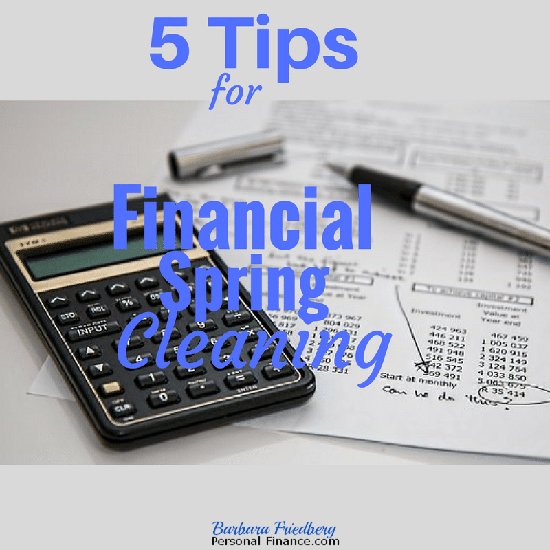 5 tips for financial spring cleaning - build wealth for today and tomorrow