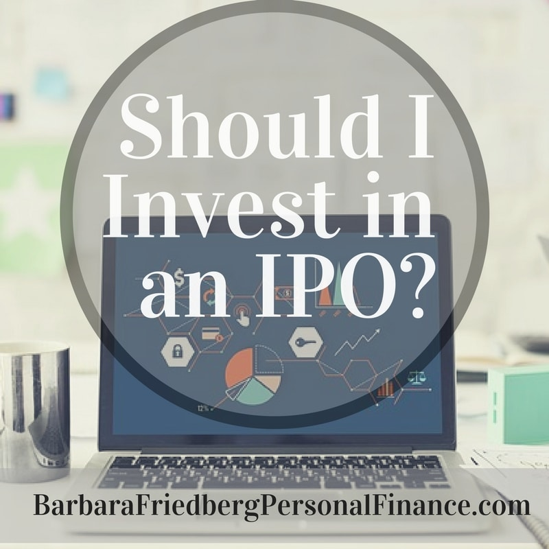 Wondering whether you should invest in an IPO? Read this article first. IPOs are risky investments.