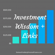 Investing Wisdom for Today's Market + Links