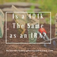 Is a 401k the Same as an IRA? 401k vs. IRA
