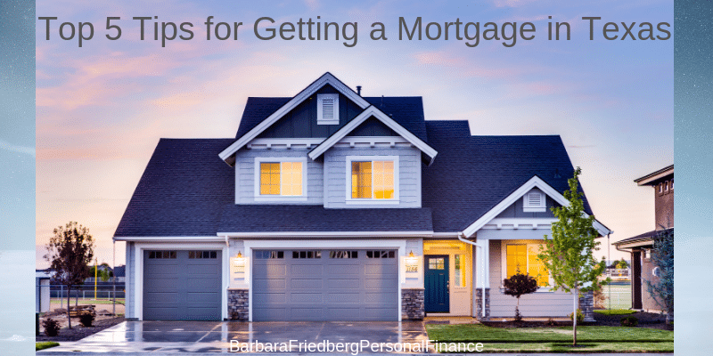 getting a mortgage in texas