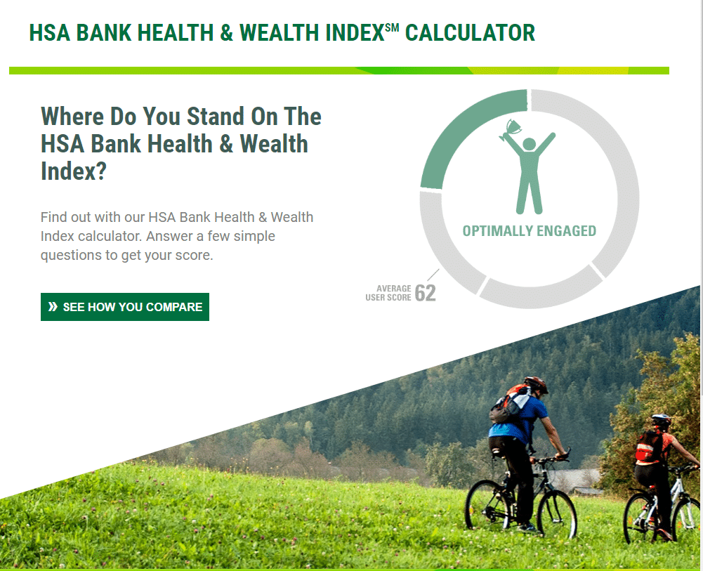 HSA health wellness calculator