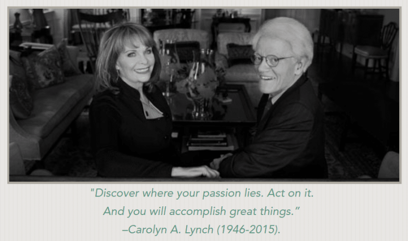 The Lynch Foundation - Peter Lynch and Carolyn Lynch