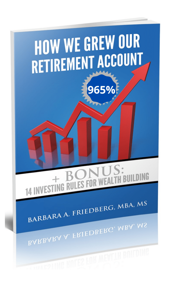 how we grew our retirement account 965% book cover
